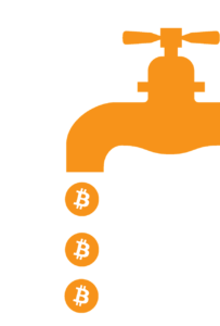 earn free bitcoin with a bitcoin faucet