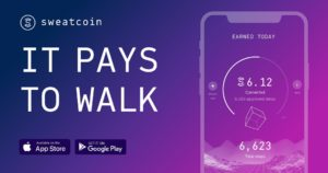 Free cryptocurrency with sweatcoin